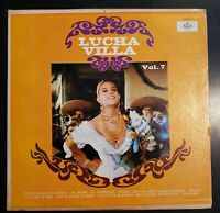 """Lucha Villa """"Vol. 7 - Lucha Villa"""" Vinyl Record LP"""