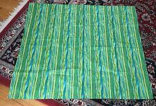 """Multi Color Striped Floral Curtain Drape 42""""w X 36"""" L"""