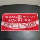 Vintage The Original and Genuine Mackeson Very Fine Extra Quality Beer Bar Towel