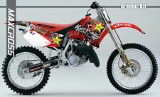 HONDA CR125R 95-97 CR250R 95-96 MAXCROSS GRAPHICS KIT DECALS DECAL FULL KIT