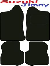 Tailored Deluxe Quality Car Mats Suzuki Jimny 1998-2017 ** Black **