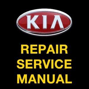 KIA SPECTRA 2002 2003 2004 2005 2006 2007 2008 2009 SERVICE REPAIR MANUAL