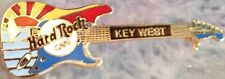Hard Rock Cafe KEY WEST 1996 SUNSET Fender Strat GUITAR PIN - HRC Catalog #3856
