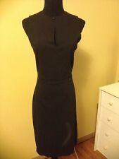 "SPRIT Essentials  Stretch BasicBlack Sleeveless Dress 15"" Back Zipper NWT Sz 5"