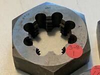 "2"" - 4 1/2"" UNC  HEX RETHREAD DIE- THREAD SIZE -HEX SIZE 3 1/2"" -1 1/4""THICKNESS"