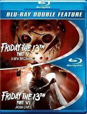 LIKE NEW Friday the 13th Part V: A New Beginning/Friday the 13th Part VI: Jason