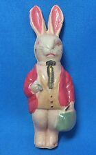 1940s Original Vintage CELLULOID Easter BUNNY RABBIT 4-inch