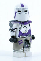 Lego GALACTIC MARINE Purple Clone Minifigure -Custom Full Body Printing! CAC