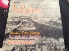 Puccini La Boheme.  Pavarotti Frenzied Ghiaurov  Berlin Philharmonic Very Rare