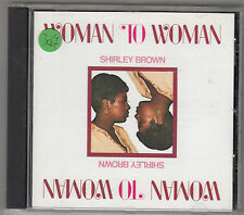 SHIRLEY BROWN - woman to woman CD