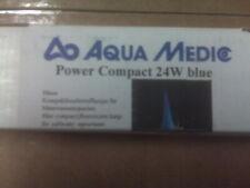 AquaMedic Power Compact 24 Watt BLUE Straight Pinned Bulb For Aquariums NEW!