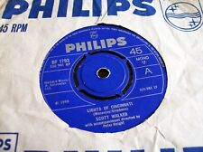 Scott Walker,Lights of Cincinnati/Two Weeks Since You've Gone (Philips,1969)