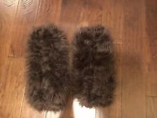 Furry Boot Covers 17 Inches Ships The Next Day