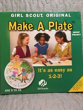 Girl Scout Original Make A Plate Group Project 25 Sheets