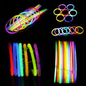 [JB] 100* Led Light Stick Fluorescent Flashing Stick Multicolor Party Decoration