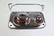 Chrome GM 1967-1980 Master Cylinder Cover Chevy SBC BBC 350 454 Single Bail Cap