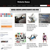 CYCLING SHOP - Professionally Designed Affiliate Website Business For Sale