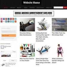 Tienda de ciclismo-negocio sitio web de afiliados de diseño profesional para la venta