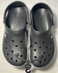New Men's CROCS Black Shoes Clogs Size 11 FREE SHIPPING