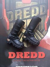 XENSATION JUDGE DREDD 1995 Tall Black Boots loose 1/6th scale