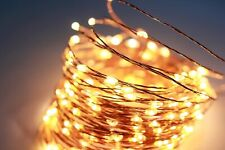 66 Ft 200LEDs Waterproof Starry Fairy Copper String Lights USB Powered for Bedro