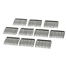10pcs 10 Teeth Wig Combs Hair Pins Clips DIY for Making Beauty Lace Cap Wig