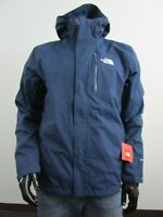 Mens The North Face Cinder 2 Tri 3 in 1 Hooded Waterproof Jacket - Blue Wing