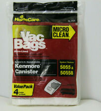 Sears Kenmore Canister Vacuum Bags for 5055 & 50558 - 4 Bags. Sealed