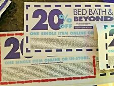 10x Bed Bath And Beyond 20% Off Single Item In-Store Coupons