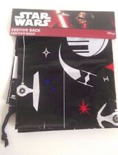 Star Wars Christmas Large Drawstring Santa Sack Festive Bag For Gift Present