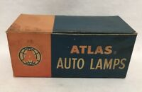 Vintage Box of Atlas Supply Auto Lamps 7003 12v Dome Courtesy (2) Bulbs 15CP
