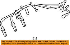 Jeep CHRYSLER OEM Wrangler Ignition Spark Plug-Wire OR Set-See Image 68017712AC