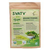 SVATV Brahmi Pulver (Bacopa Monnieri) - USDA / EU-zertifiziert Bio 227g, 08 oz