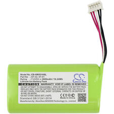 Battery for SONY SRS-X3, SRS-XB2 ( P/N  ST-01, ST-02 )