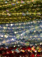 Beads ModeBeads Fire Polished 6mm Beads Assortment 1500 Beads Czech Glass Beads