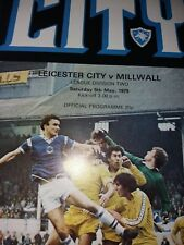 Leicester City v Millwall, 1978-79