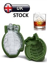 Grenade Silicone Mould Ice Tray Cake Decorating Chocolate Baking Mold Tool