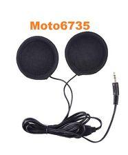 Dual Stereo Helmet Speakers for iphone, ipad, samsung, mp3, 3.5mm