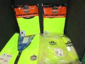 Tenacious Ergodyne Work Gear Glowear High Visibility Apparel Lime