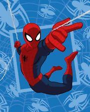 SPIDERMAN COUVERTURE PLAID CORAL 120x150 cm FLEECE BLANKET SUPER HEROES