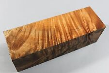 "1978 Flame maple pen blank/pepper mill turning blank 8""x2.5""x2.5"""