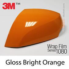 20x30cm LÁMINA Brillante brillante Naranja 3M 1080 G54 Vinilo CUBIERTA