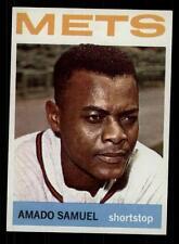 1964 Topps Baseball #129 Amado Samuel (Mets) STARX 8 NM/MT (CS19016)