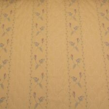Arianna Stripe Jacquard Woven Floral Leaf And Diamond Pattern Curtain Fabric