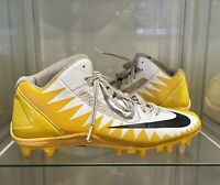 ANTONIO BROWN GAME USED CUSTOM AB NIKE PROMO 2017 STEELERS NFL CLEATS GAME WORN