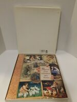 HALLMARK MEMORIES  Victorian Vintage Expandable Photo Album Scrapbook Boxed Gift
