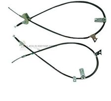 FOR NISSAN MICRA K11 1.0 1.3 1993-2001 REAR 2 HAND BRAKE CABLES SET LEFT & RIGHT
