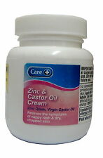 Care Zinc And Castor Oil Cream 100ml virgin castor oil nappy rash Dry skin