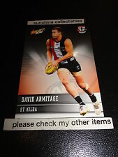 2012 SELECT AFL CHAMPIONS BASE CARD NO.175 DAVID ARMITAGE ST KILDA
