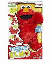 Playskool Friends Tickle Me ELMO Sesame Street Plush Box Tummy Laugh Kids NEW